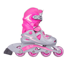 Adjustable Rollerblades WORKER Juny Girl - Pink