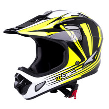 Downhill Helmet W-TEC FS-605 - Yellow Graphics