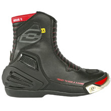Motorcycle Shoes Ozone Urban II CE - Black-Red
