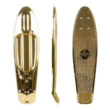 "Penny Board Deck WORKER Mirria 22.5*6"" - Gold"