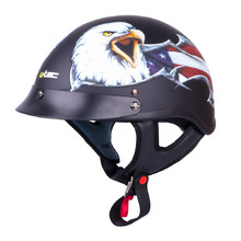 Motorcycle Helmet W-TEC V531 - Black-Eagle