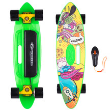 Electric Longboard WORKER Smuthrider - Yellow-Green