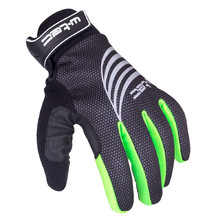 Sports Winter Gloves W-TEC Grutch AMC-1040-17 - Black-Green