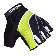 Cycling Gloves W-TEC Baujean AMC-1036-17 - Black-Yellow
