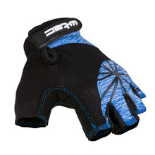 Women's Cycling Gloves W-TEC Klarity AMC-1039-17 - Black-Blue