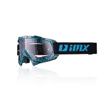 Motocross Goggles iMX Mud Graphic - Blue-Black