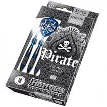 Darts Harrows Pirate Soft 16g K Blue – 3 Pieces
