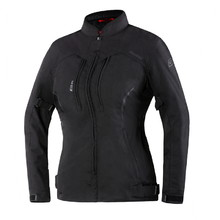 Women's Motorcycle Jacket Ozone Delta IV Lady - Black
