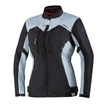 Women's Motorcycle Jacket Ozone Delta IV Lady - Black-Grey