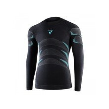 Thermal Motorcycle T-Shirt Rebelhorn Therm Jersey - Black