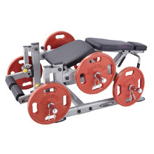Leg Extension Machine Steelflex PlateLoad Line PLLC - Grey