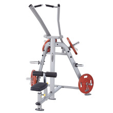 Lat Pulldown Machine Steelflex PlateLoad Line PLLA - Grey