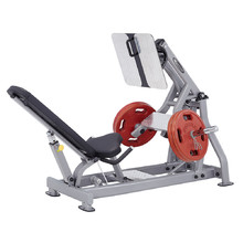 Leg Press Machine Steelflex PlateLoad Line PLLP - Grey