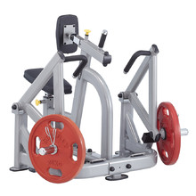 Seated Pull Down/Rowing Machine Steelflex PlateLoad Line PLSR - Grey