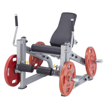 Leg Extension Machine Steelflex PlateLoad Line PLLE - Grey