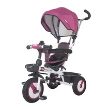 Three-Wheel Stroller/Tricycle with Tow Bar MamaLove Rider - Purple