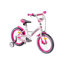 "Children's Bike Reactor Foxy 16"" – 2019 - White-Pink"