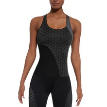 Women's Sports Top BAS BLACK Escape-Top 50 - Grey-Black