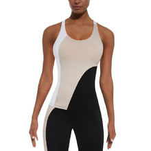 Women's Sports Top BAS BLACK Flow-Top 50 - Black/Cream