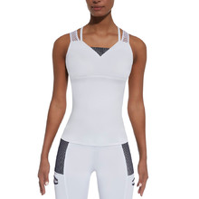 Women's Sports Top BAS BLACK Passion-Top 50 - White-Blue