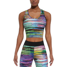 Women's Sports Top BAS BLACK Tropical-Top 30 - Multi-Coloured