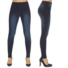 Women's Push-Up Leggings BAS BLEU Maddie - Dark Blue