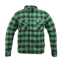 Motorcycle Shirt W-TEC Terchis - Green