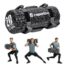 Exercise Bag with Handles inSPORTline Fitbag Camu 20kg