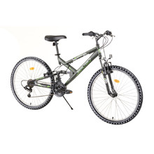 "Full-Suspension Bike Reactor Fox 26"" – 2020 - Green"