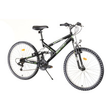 "Full-Suspension Bike Reactor Fox 26"" – 2020 - Black"