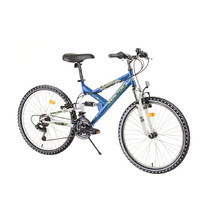 "Full-Suspension Junior Bike Reactor Fox 24"" – 2020 - Blue"