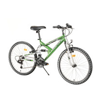 "Full-Suspension Junior Bike Reactor Fox 24"" – 2020 - Green"