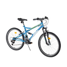 Junior Full-Suspension Bike DHS 2445 24ʺ – 2016 - Blue