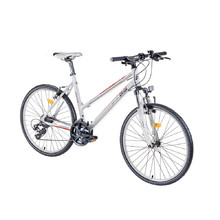 "Women's Cross Bike DHS Contura 2666 26"" – 2016 - White-Orange"