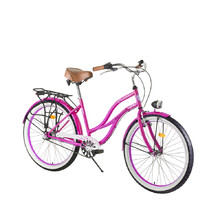 "Women's Urban Bike DHS Cruiser 2698 26"" – 2016 - Pink"