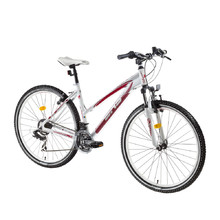 Women's Mountain Bike DHS Terrana 2922 29ʺ – 2016 Offer - White-Red