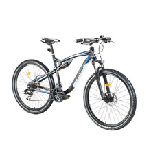 "Full Suspension Bike DHS Terrana 2745 27.5"" – 2016 - Black-White-Blue"