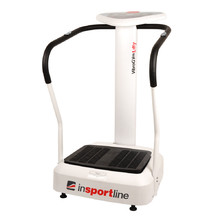 inSPORTline Lilly Vibration Machine - White