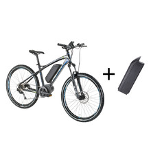 Mountain E-Bike Devron 27225 with 11.6Ah Replacement Battery - 2016 - Race Black
