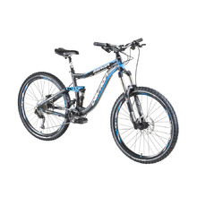 "Full Suspension Mountain Bike Devron Zerga FS6.7 27.5"" – 2016 - Black-Blue"