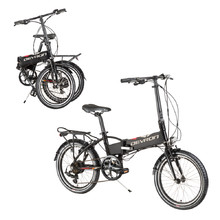 "Folding E-Bike Devron 20124 20"" – 2017 - Black"