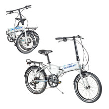 "Folding E-Bike Devron 20124 20"" – 2017 - Grey"