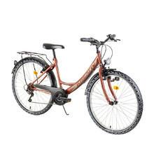 "Women's City Bike Kreativ 2614 26"" - 2018 - Pearl Copper"