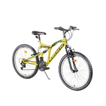 "Full-Suspension Junior Bike Kreativ 2441 24"" – 2019"