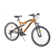 "Full-Suspension Junior Bike DHS 2445 24"" – 2019 - Orange"