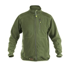 Hunting Fleece Sweater Graff 222-P-BL - Olive Green