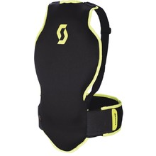 Back protector Soft CR II Junior - Black-Green