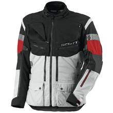 Moto Jacket Scott All Terrain Pro DP - Grey-Red