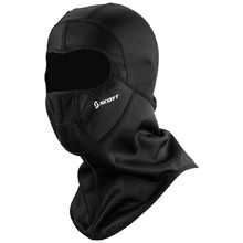 Balaclava SCOTT Wind Warrior Open Hood MXVII - Black
