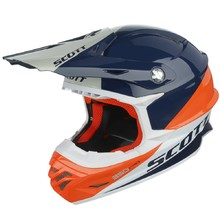 Motocross Helmet Scott 350 Pro Trophy - Blue-Orange